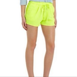 Skies Are Blue neon shorts